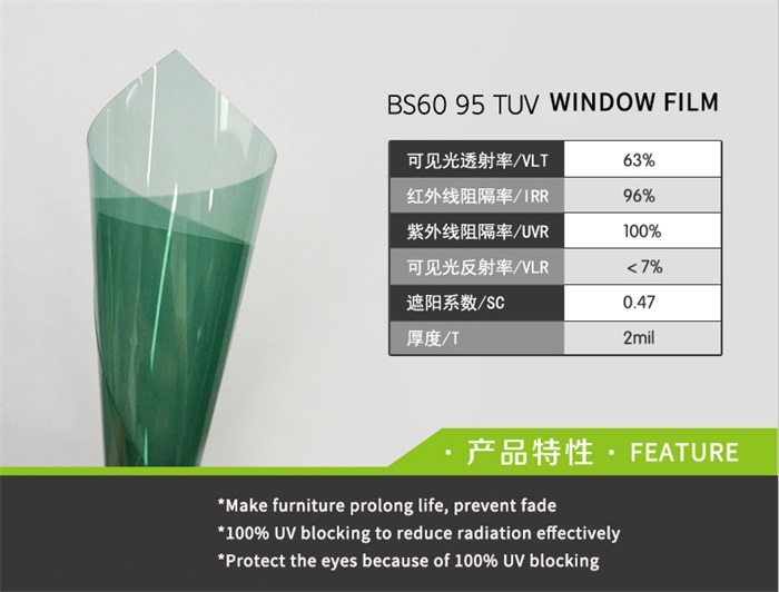 nano ceramic energy conservation building window film