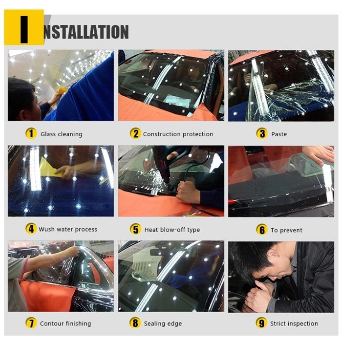 ultraviolet blocking car window film