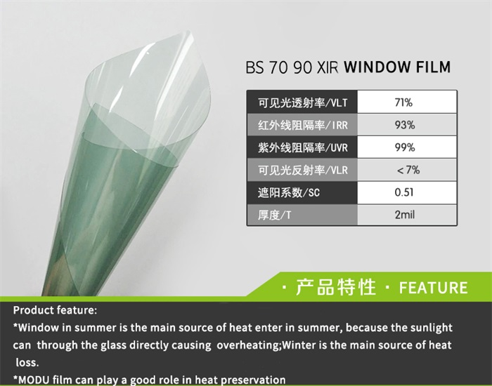 nano ceramic CAR window tint film