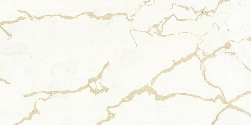 Inorganic Quartz Calacatta For Solid Stone Countertop In Kitchen