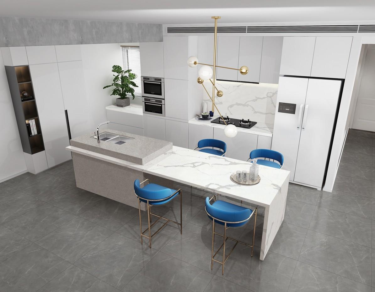 Engineered Quartz Stone Kitchen Countertops Fabricator Manufacturers, Engineered Quartz Stone Kitchen Countertops Fabricator Factory, Supply Engineered Quartz Stone Kitchen Countertops Fabricator