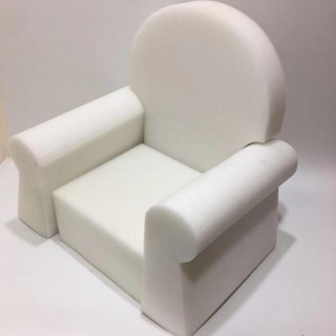 Kids plush chair