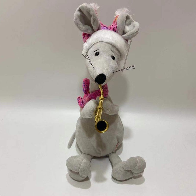 Cute Moving Neck Mouse Toy With Sax Manufacturers, Cute Moving Neck Mouse Toy With Sax Factory, Supply Cute Moving Neck Mouse Toy With Sax