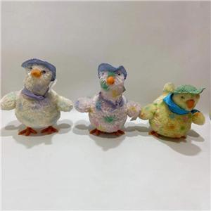 Soft Chicken Lays Eggs Toy
