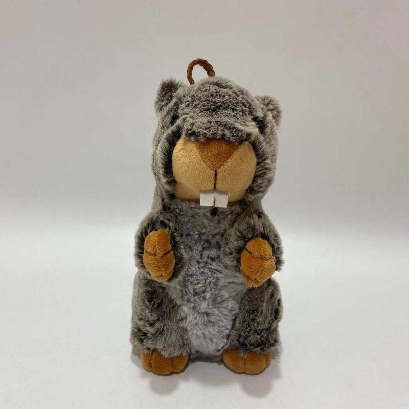 Light Sensor Control Plush Marmot Toy