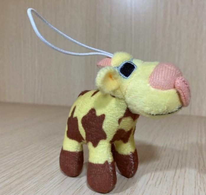 Plush Key Chain Cow Toy