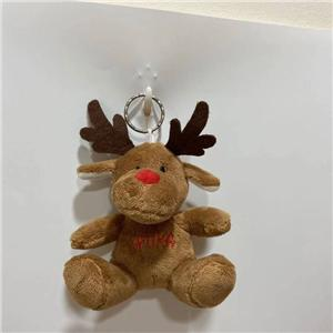 Plush Reindeer Plush Keychain Gift