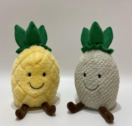 パイナップルのおもちゃの話と揺れ