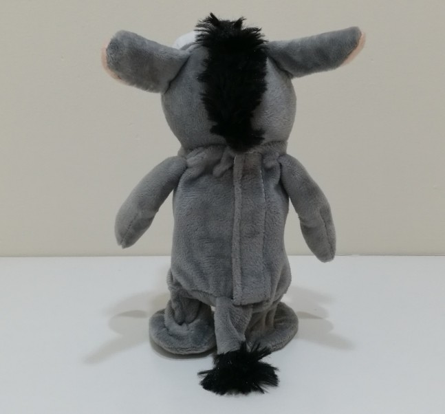 walking and speaking donkey toy