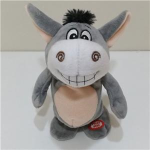 Walking And Speaking Plush Intertesting Donkey Toy