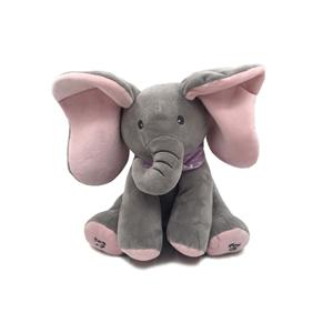 Juguete de peluche Hide And Seek Soft Elephant