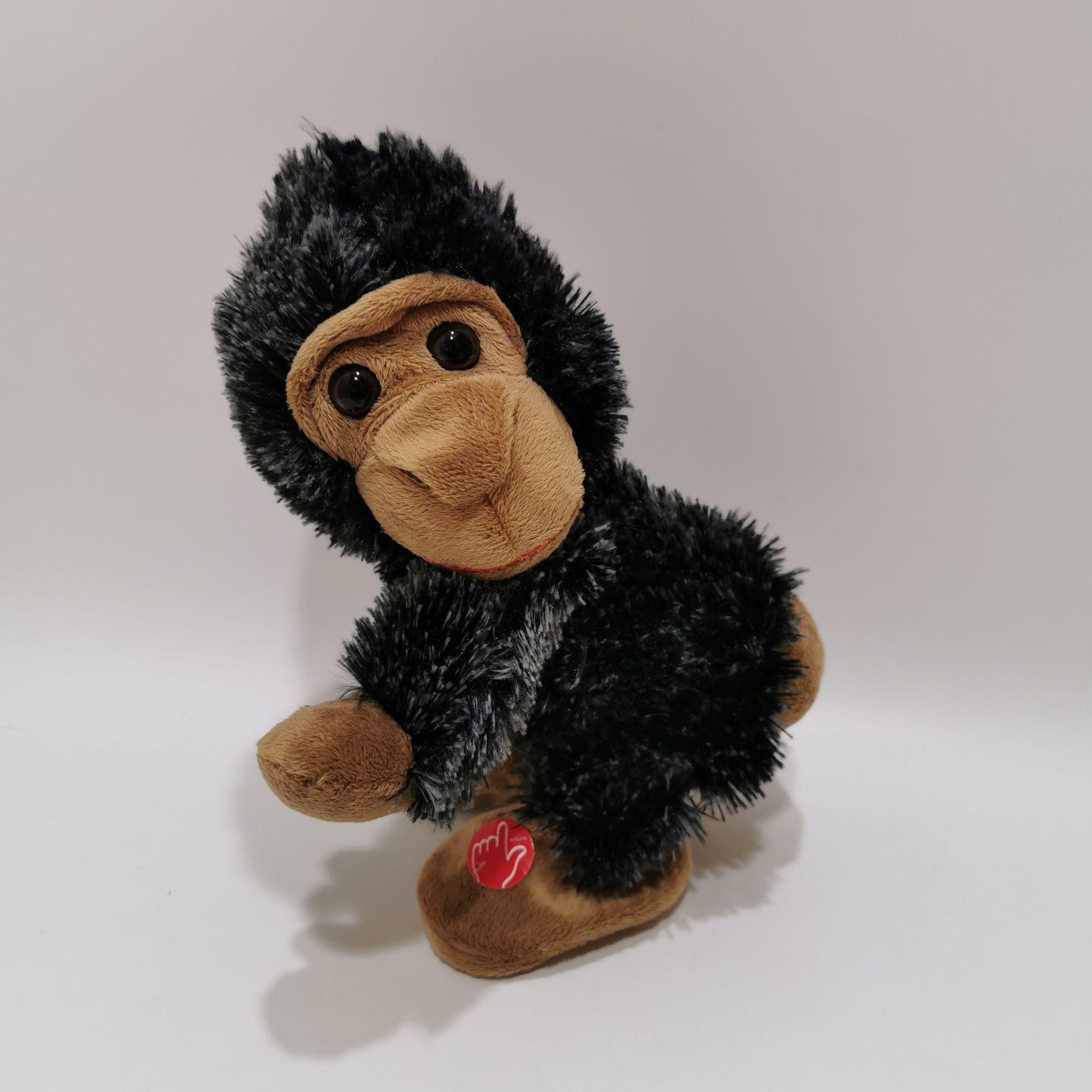 плюшевые гориллы встряхнуть снизу