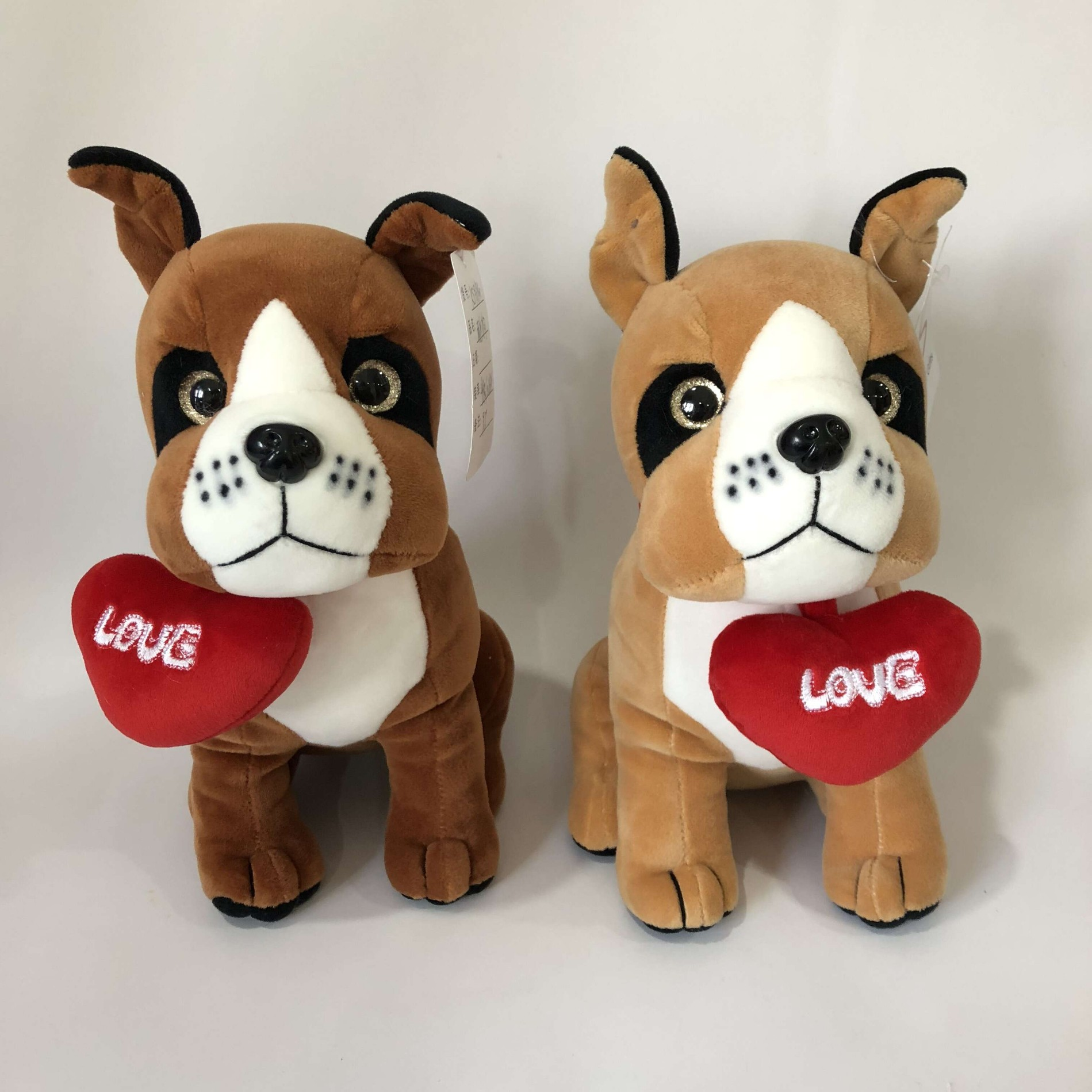 Plush Valentine Gift Adorable Dog