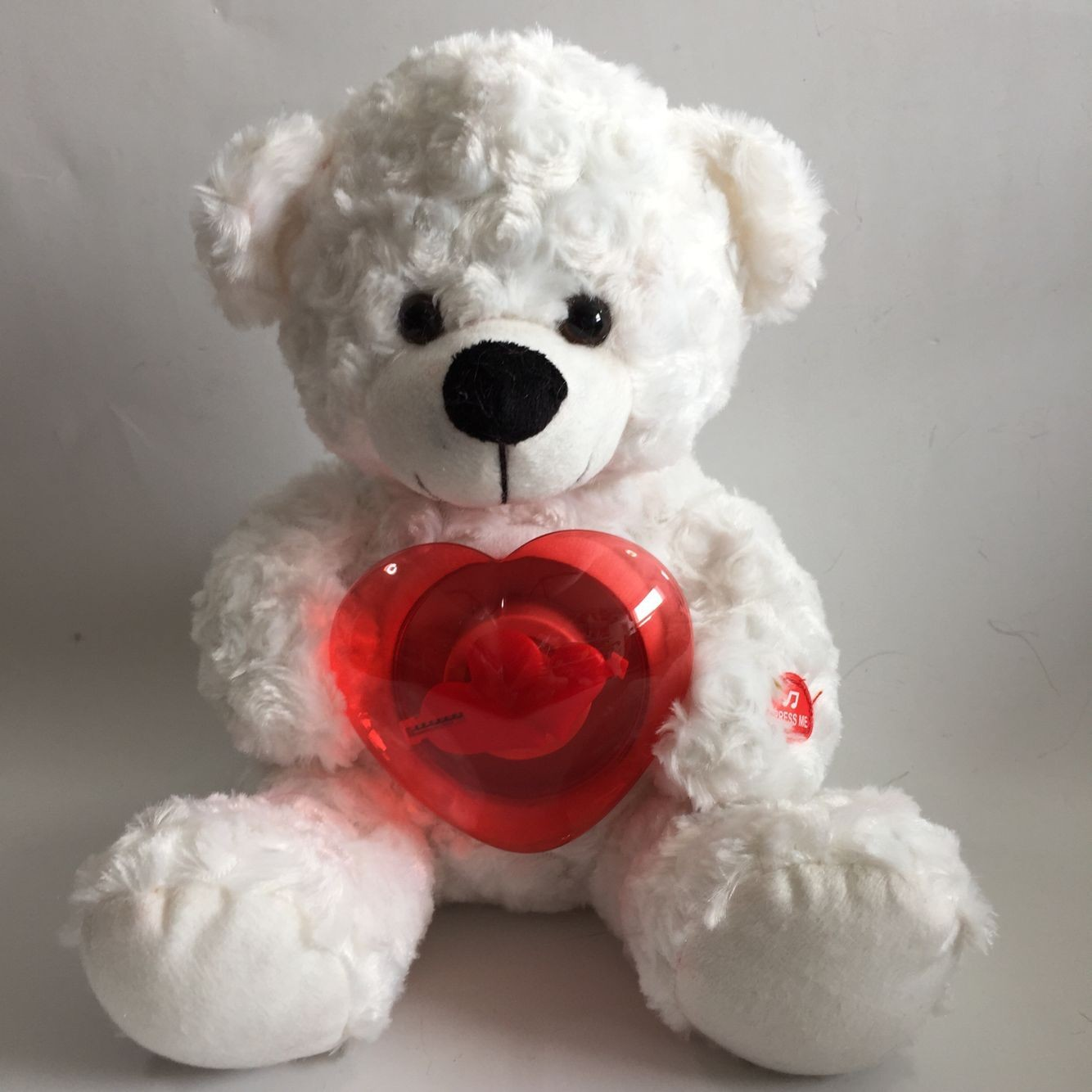 Plush Singing Bear Toys With The Lighting Fans