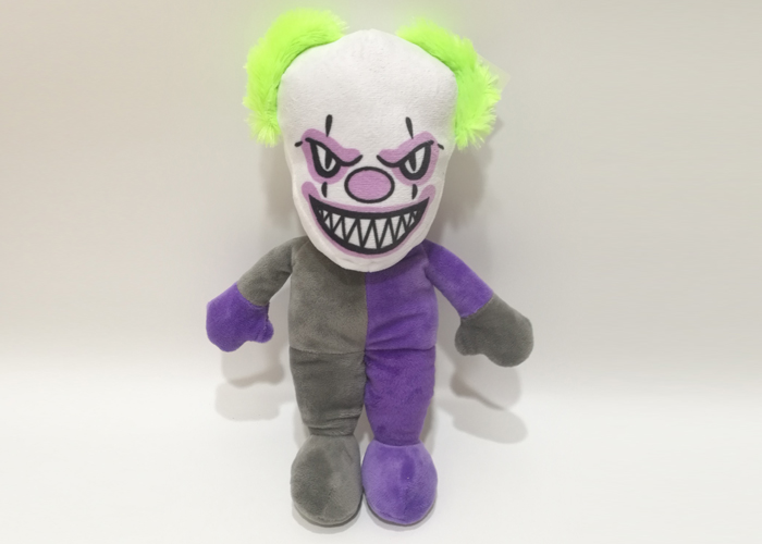 plush clown