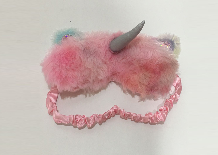 Pink Unicorn Eye Mask
