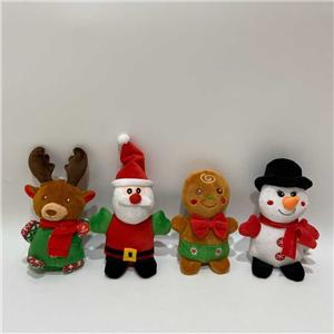 BSCI Audit Factory X'mas Plush Toys With Sound