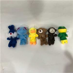 Плюшевые куклы животных палец игрушки