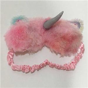 Довольно розовая маска для глаз единорога