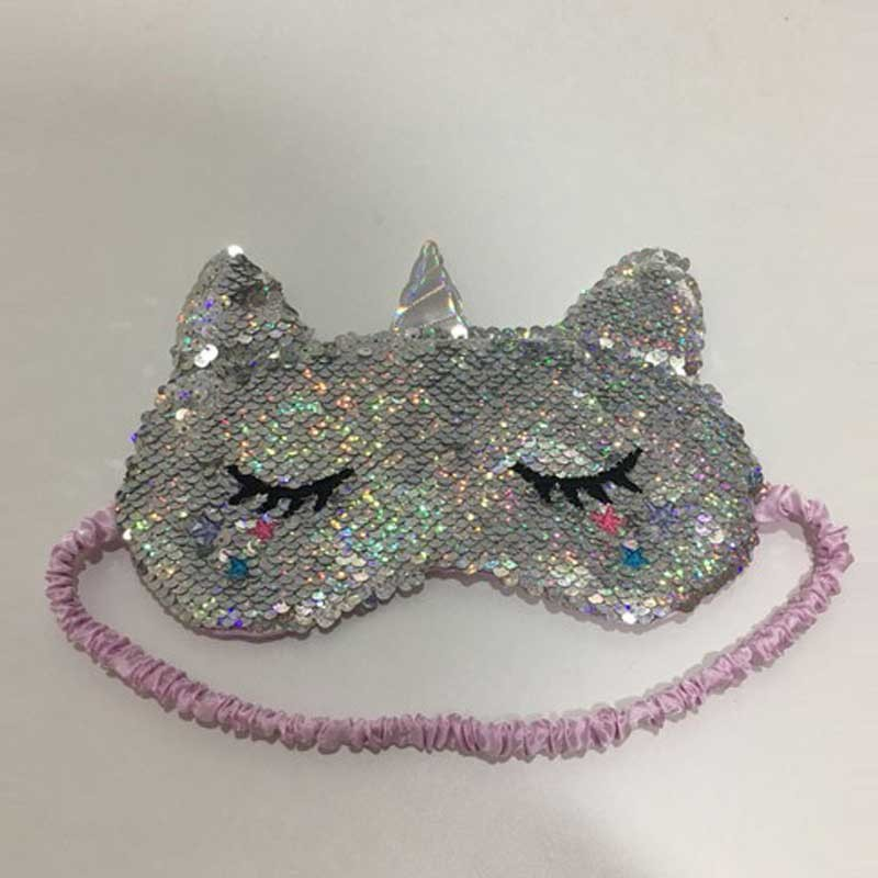 Flip Sequins Unicorn Eye Mask