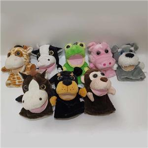 Regalos de marionetas de manos de animales de peluche para niños