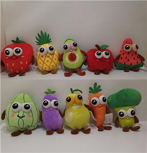Big Eye Soft Fruit Vegetable Toy Set