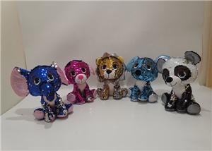 Blingbling Cute Plush Big Eye Animals
