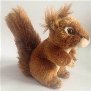 Lifelike Plush Squirrel Toy