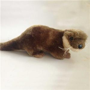 Lifelike Plush Weasel Toys