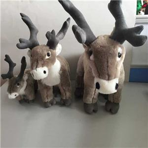 Lifelike Wild Reindeer Plush Toy
