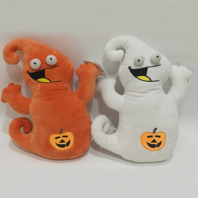 Halloween Soft Stuffed Pumpkin Ghost Plush Toy