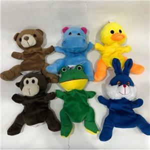 Regalo de marionetas de mano de peluche para niños