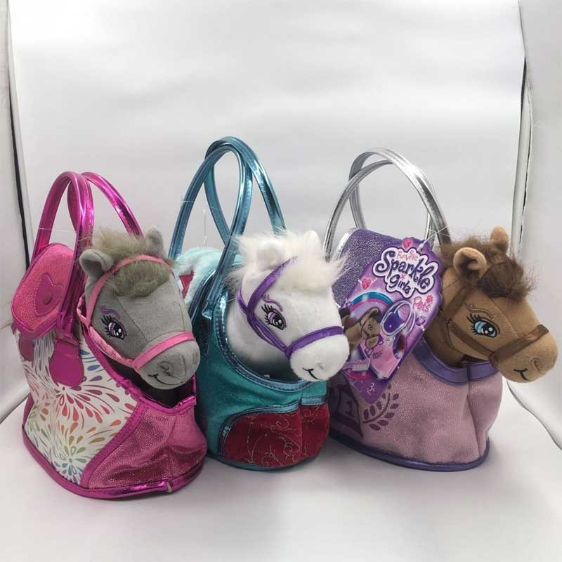 Stuffed Horse Toy With Tote Bag