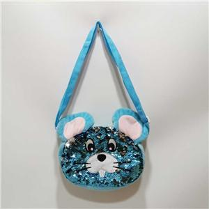 Blue Sling Shining Mouse Bag