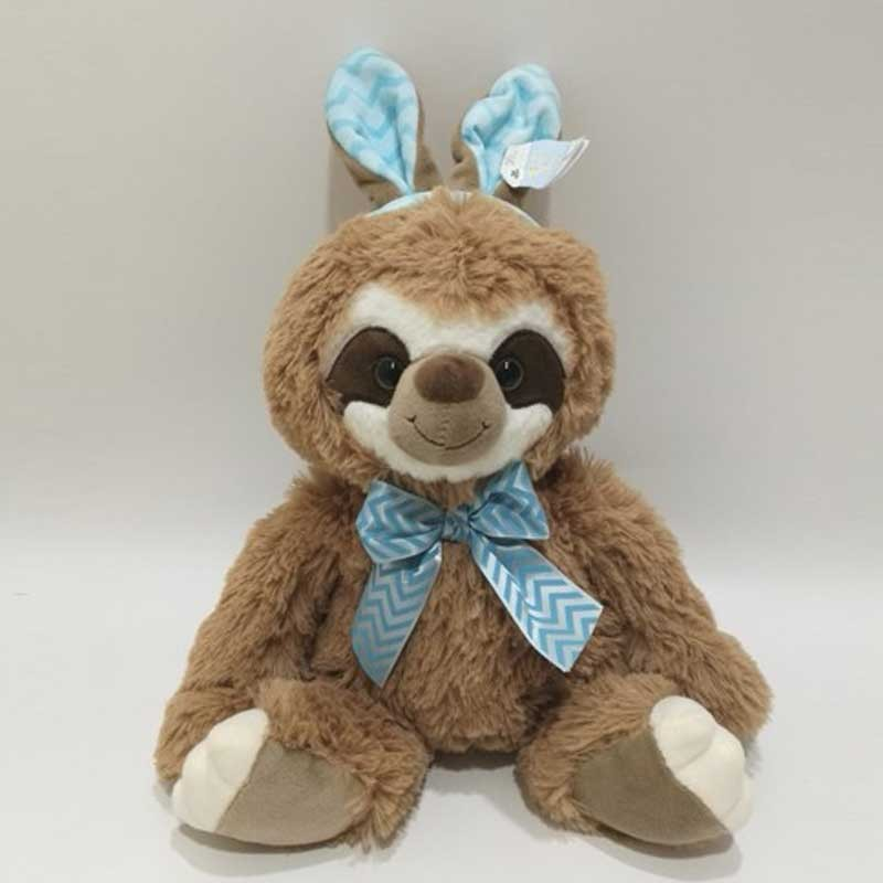 Easter Stuffed Toy Cute Sloth