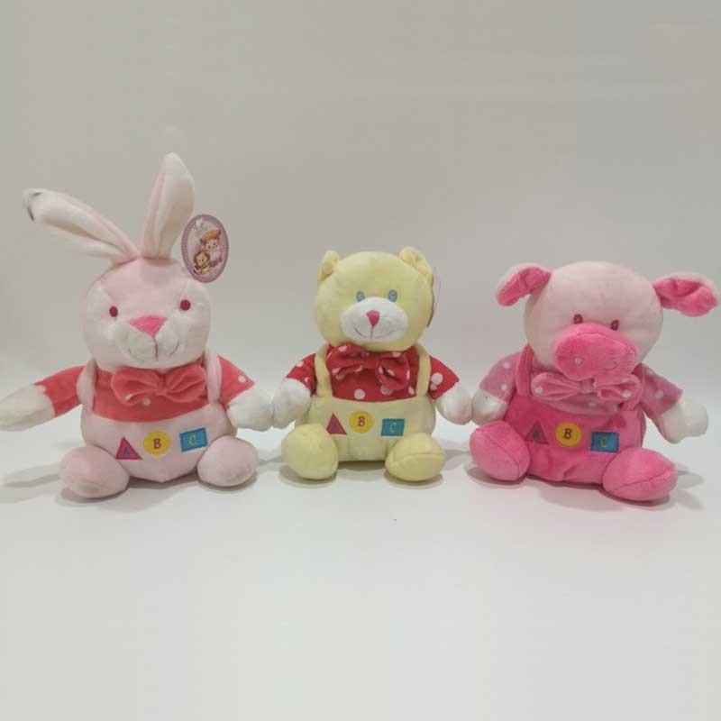 Plush Baby Toy Educational Stuffed Animal