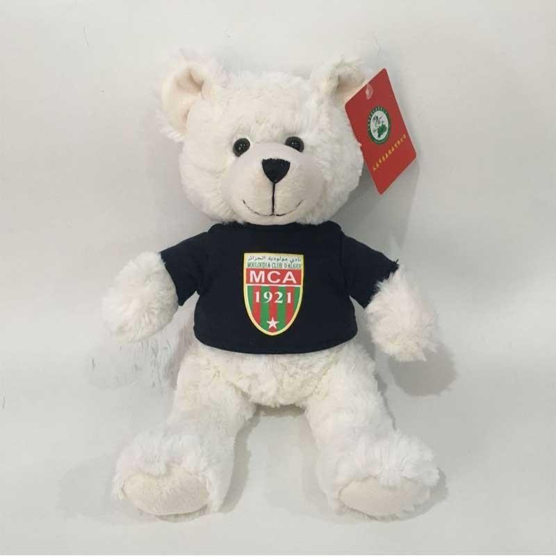 Stuffed Teddy Bear With Logo On The T-shirt