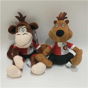 Team Mascot Monkey Squirrel Plush Toy
