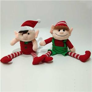 Stuffed Plush Talking Elf Toy Up And Down Movement