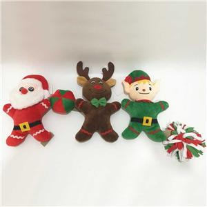 Plush Santa Reindeer Elf Decoration Toy