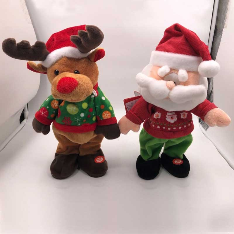 Rocking Plush Santa Reindeer With Lights Manufacturers, Rocking Plush Santa Reindeer With Lights Factory, Supply Rocking Plush Santa Reindeer With Lights