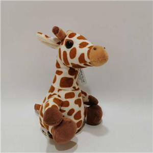 Speaking And Repeating Plush Giraffe Toy