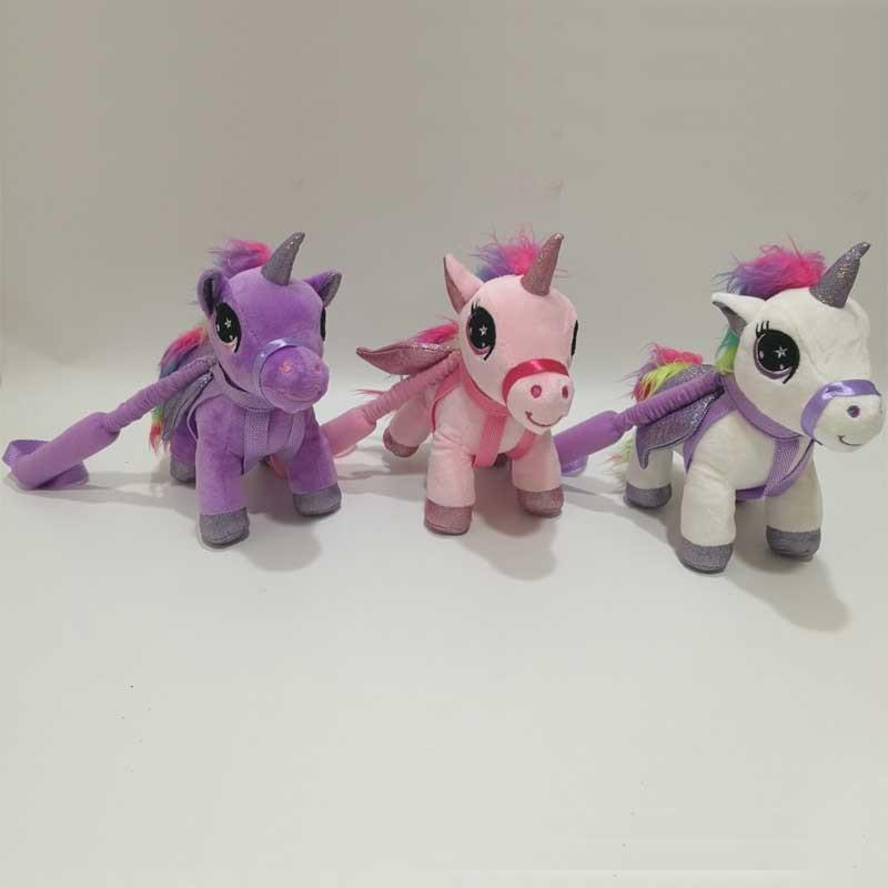 Adjustable Flexible Stick Plush Unicorn