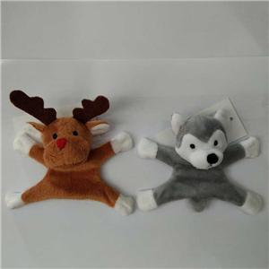 Plush Reindeer And Husky Plush Fridge Magnet