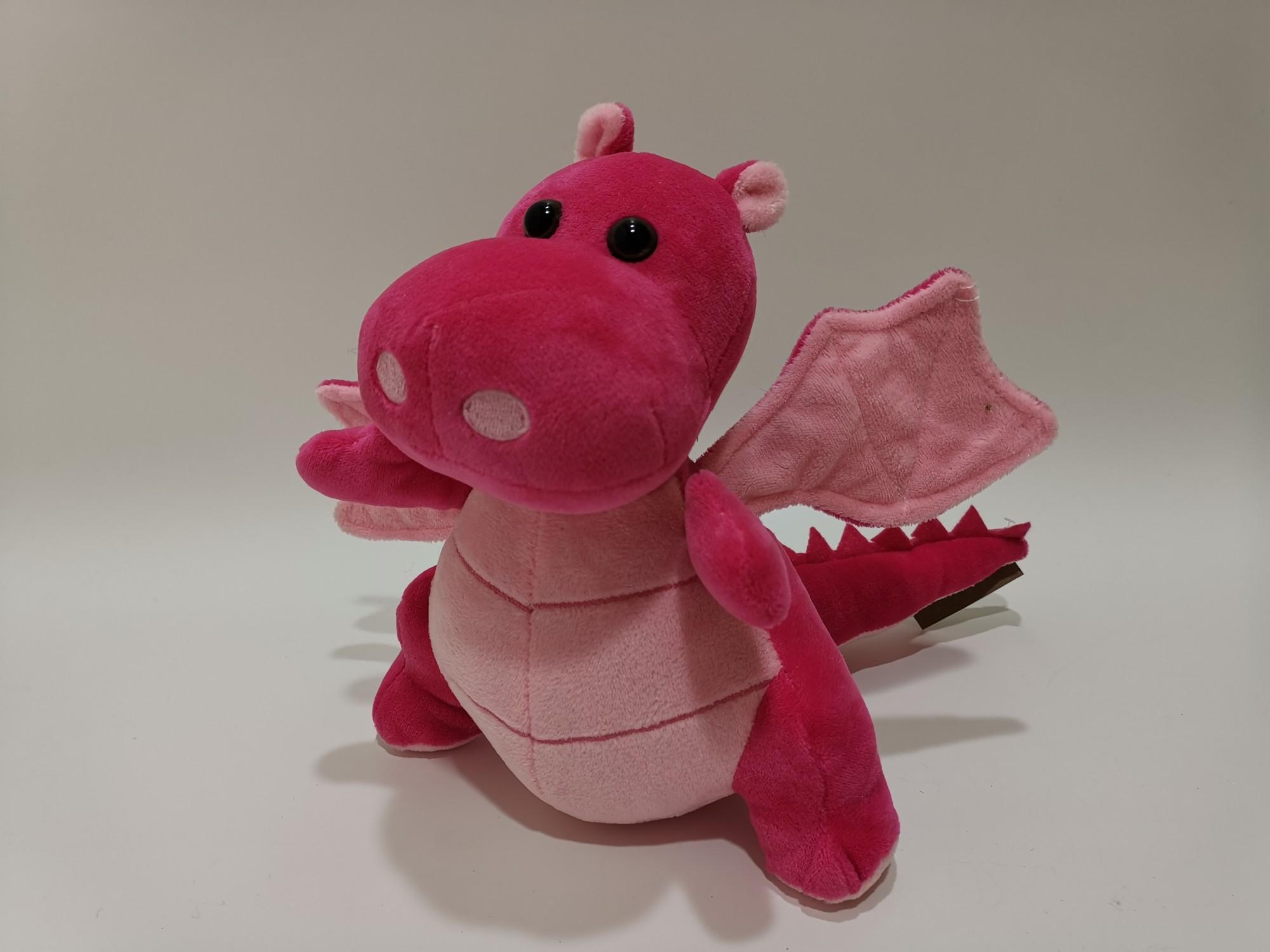Hot Sale Stuffed Plush Animal Red Cute Baby Dragon Toy