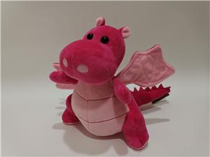 Hot Sale Stuffed Plush Animal Red Cute Baby Dragon Toy