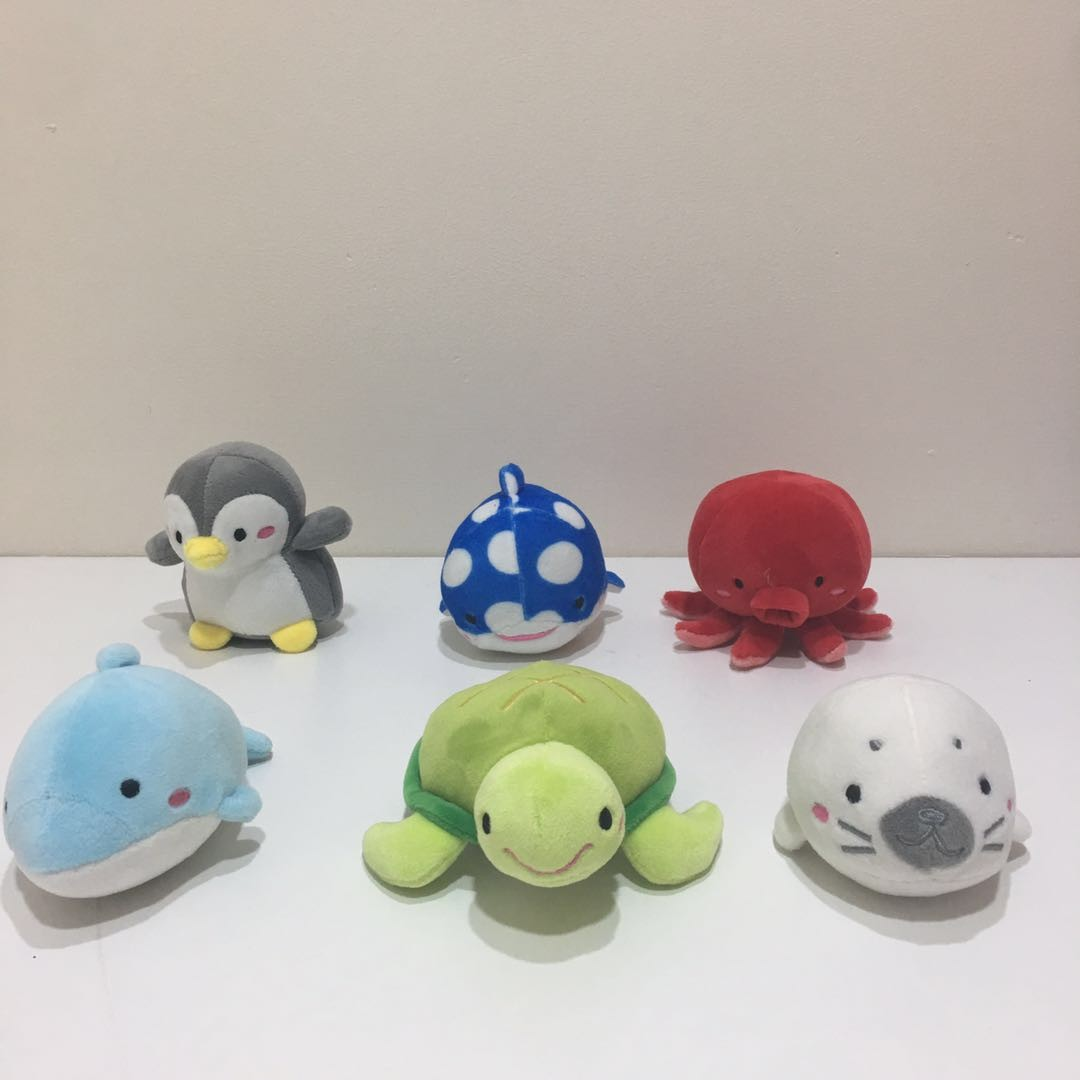 Super Soft Marine Plush Toys