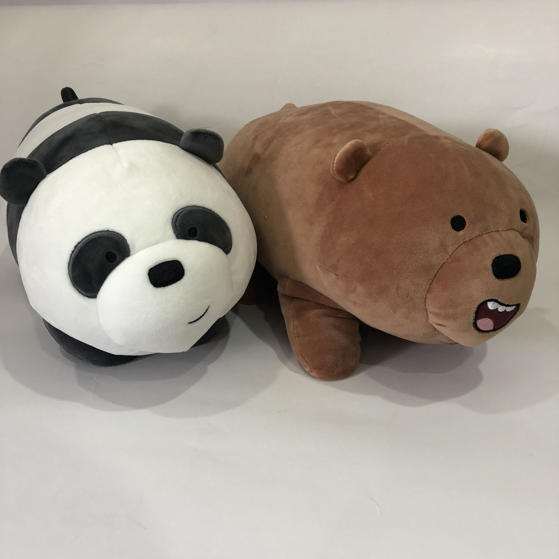 Super Soft Panda And Bear Pillow