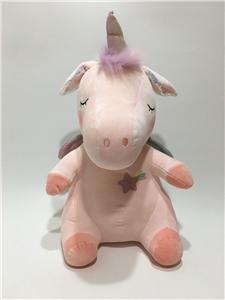 Super Soft Unicorn Plush Toy With Flappy Ear