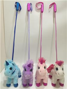 Unicorn Plush Toy With Stick